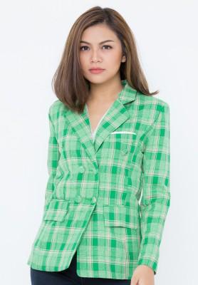 Titi Shop - Ao khoac vest nu cao cap VNN7 XANH NEW