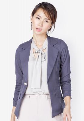 Titi Shop - Ao khoac vest nu AKVN59 (Xam chuot )