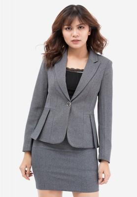 Titi Shop - Bo Ao vest nu va Vay Nhap Cao cap ACC27 ( Xam Chuot )