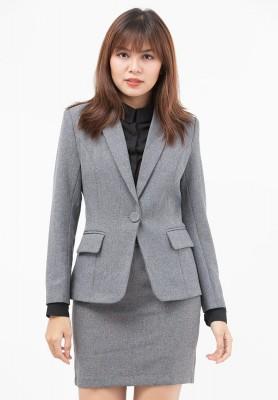 Titi Shop - Bo Ao vest nu va Chan vay Nhap Khau Cao cap ACC7 ( Xam)