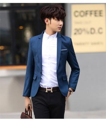 Titi Shop - Ao khoac vest nam AVN58 HANG NHAP CAO CAP ( Xanh co ban )