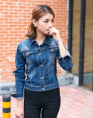 Titi Shop - Ao khoac jean nu Cao cap NT20 Nhap ( Xanh ) 8886