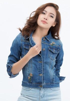 Titi Shop - Ao khoac jean Titishop NT239613 xanh duong