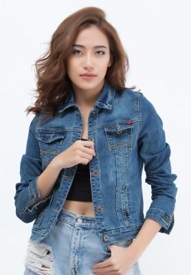 Titi Shop - Ao khoac jean Titishop NT248855 xanh duong