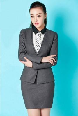 Titi Shop - Bo Ao vest nu VA Chan vay Nhap Cao cap ACC33 ( XAM)