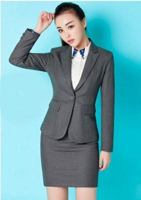 Titi Shop - Bo Ao vest nu va Chan vay Nhap Cao cap ACC35 ( XAM)