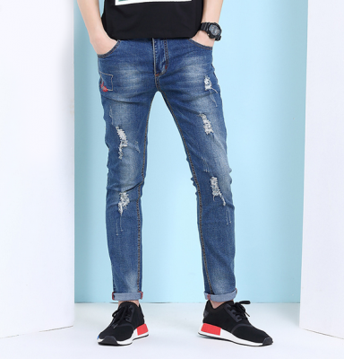 Titi Shop - Quan jean Nam wax QJ143997 ( xanh )