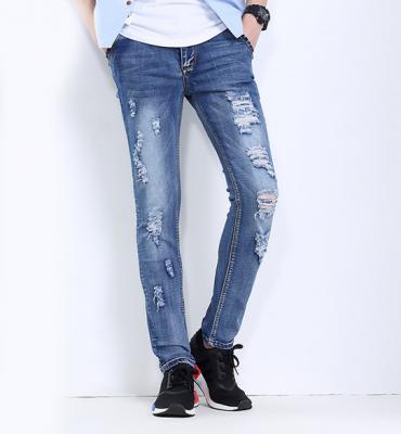 Titi Shop - Quan jean Nam wax QJ144997 ( xanh )