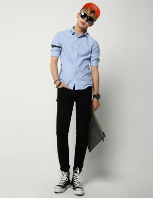 Titi Shop - Quan jean Nam Con QJ150022 (Den )