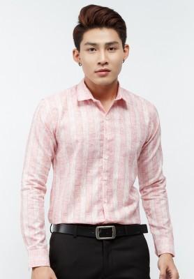 Titi Shop - Ao so mi Titishop SM462 tay dai mau soc doc pastel