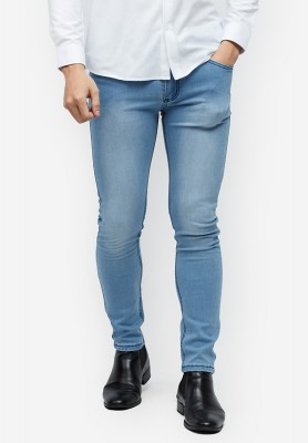 Titi Shop - Quan jeans Titishop QJ153 mau xanh duong wash CON