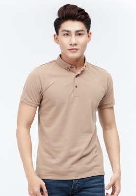 Titi Shop - Ao thun nam Slimfit Titishop AT292 co tru ( thun ca sau )