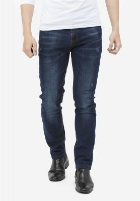 Titi Shop - Quan jeans nam Titishop QJ163 wash bac mau xanh den
