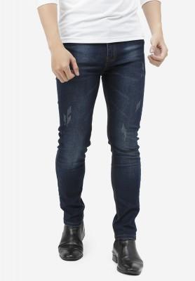 Titi Shop - Quan jeans NAM Titishop QJ162 wash bac mau xanh den