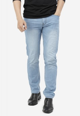 Titi Shop - Quan jeans NAM Titishop QJ161 wash bac mau xanh da troi