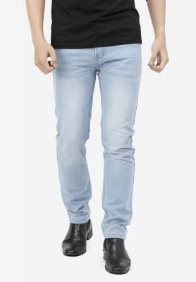 Titi Shop - Quan jeans NAM Titishop QJ160 wash bac mau xanh da troi