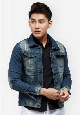 Titi Shop - Ao khoac Jean Nam CAO CAP AKN321 Cuc dep