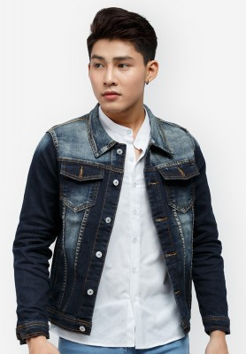 Titi Shop - Ao khoac Jean Nam CAO CAP AKN320 Cuc dep