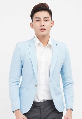 Titi Shop - Ao khoac vest nam CAO CAP AVN51 ( XANH DA TROI )