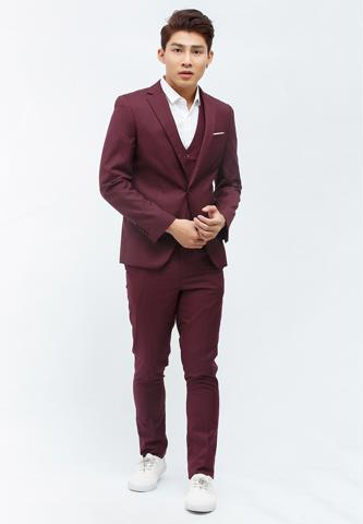 Titi Shop - Bo vest NAM Titishop BO32 mau do do
