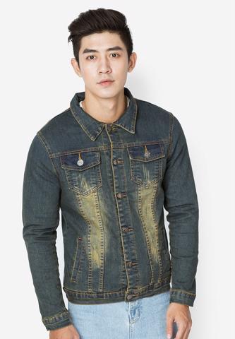 Titi Shop - Ao khoac Jean Nam CAO CAP AKN236 Cuc dep