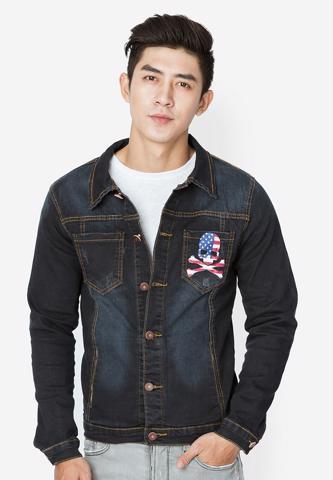 Titi Shop - Ao khoac Jean Nam CAO CAP AKN323 Cuc dep