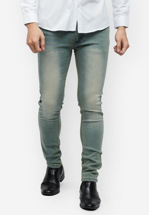 Quần jeans Titishop QJ152 màu jean wash ống