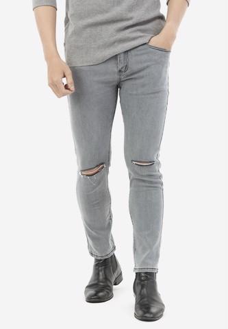 Titi Shop - Quan Jeans Titishop QJ168 mau xam rach goi