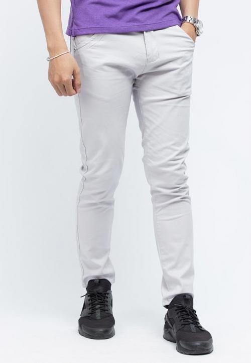 Quần kaki Titishop QK03 màu xám nhạt
