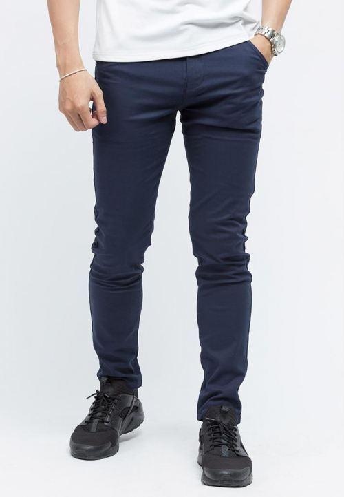 Quần kaki Titishop QK04 màu xanh navy