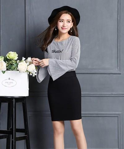 Titi Shop - Chan vay Thun co gian CV22609 ( den )
