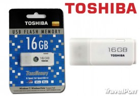 Travel Pon - USB TOSHIBA FULL SPEED 2.0 DUNG LUONG 16GB