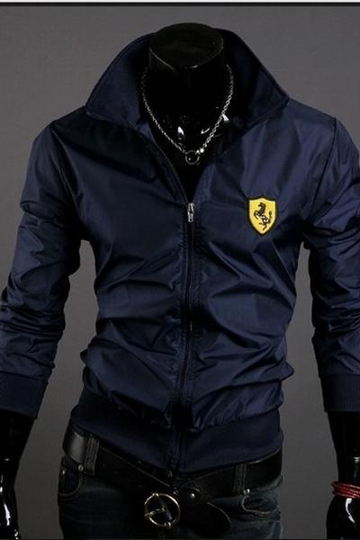 Áo khoác dù nam logo Ferrari - VB1024