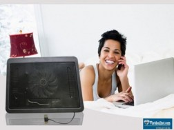 Bảo vệ, nâng cao tuổi thọ laptop với ĐẾ TẢN NHIỆT LX - 948A