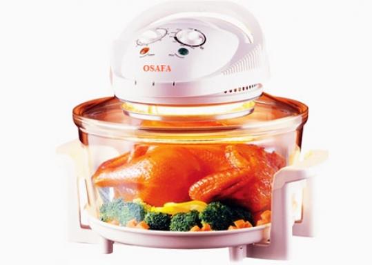Lò Nướng Đa Năng OSAFA - Quay, Nướng, Làm nóng, Rã đông, Sấy khô và Khử trùng thực phẩm... dễ dàng và tiện lợi