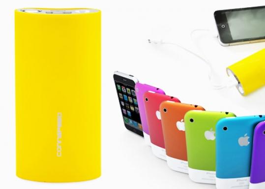 SẠC ĐẦY 3 iPhone VỚI SẠC DỰ PHÒNG CONNSPEED công suất 5000 mAh cho iPhone, iPad, iPod... Nhỏ gọn, tiện dụng