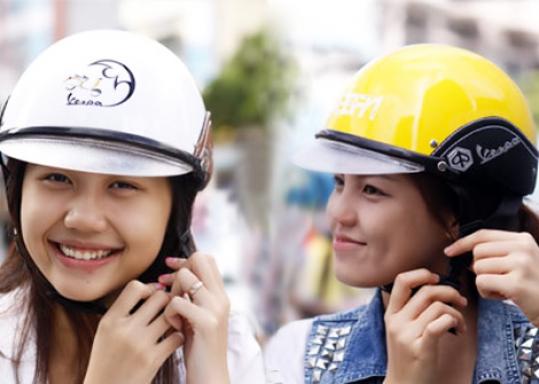 Nón bảo hiểm kiểu dáng Vespa cao cấp: an toàn và thời trang sành điệu. Bảo hiểm trách nhiệm sản phẩm lên đến 2,5 tỷ đồng