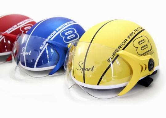 Nón Bảo Hiểm Có Kính BasketBall - THIẾT KẾ ĐẸP SẮC XẢO, THỜI TRANG, SẢN PHẨM CHẤT LƯỢNG CAO, CÓ KÍNH