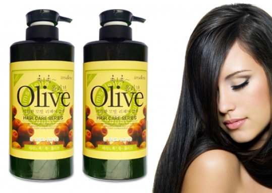CHĂM SÓC TÓC CHUYÊN NGHIỆP với Combo 2 chai Dầu Gội và Dầu Xả Olive 800ml/ chai. Chỉ 135.000đ giảm 55%