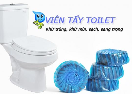 Vỉ 4 Viên Tẩy Bồn Cầu YouFul - Tẩy sạch các vết bẩn bám vào thành Toilet, diệt sạch các vi trùng gây hại