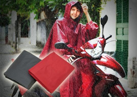 Áo Mưa Vải Dù Cao Cấp - Chất liệu vải dù không thấm mước, siêu bền, đường may chắc chắn, sử dụng được nhiều năm