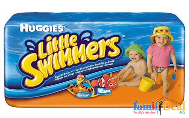 VN Deal - Ta cho be hoc boi Huggies Little Swimmers (swimpants)