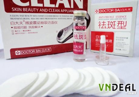Máy massage rửa mặt Dr.Bai