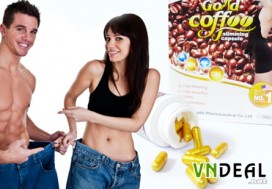 Vien Coffee giam can Gold Slimming...