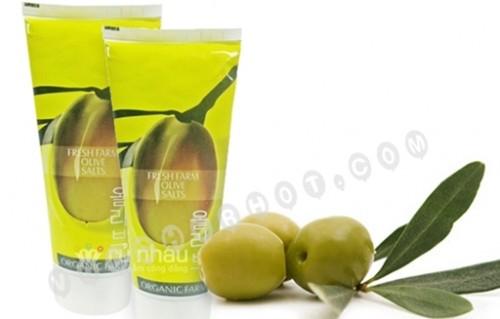Kem Tắm Cát Olive - Dâu