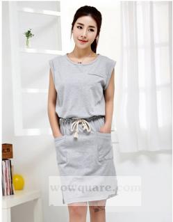 Đầm Dạo Phố Phong Cách Hàn Quốc