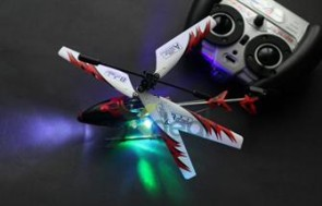 Máy bay điều khiển từ xa TT998 loại 18cm - 3,5 chanel được làm bằng hợp kim nhôm, nhẹ, rất bền, bạn hoàn toàn yên tâm khi thực hiện những pha bay lượn siêu tốc.