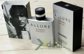 Nước hoa Allure homme sport dành cho nam với hương thơm mạnh mẽ và cuốn hút, thể hiện phong cách đàn ông đích thật của bạn. GIÁ CHỈ 150.000 VND