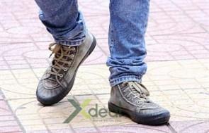 Giày Jean cổ cao thời trang bụi bặm cho bạn trẻ cá tính. Mang phong cách mới lạ, năng động theo phong cách Hàn Quốc chỉ với 189,000đ tại Xdeal.vn