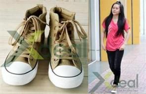 Tự Tin Thể Hiện Phong Cách - Trẻ Trung - Sành Điệu Cùng Giày Nữ Cổ Cao JuHang Korea Fashion. Gía chỉ có 250.000đ